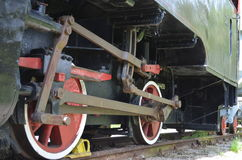 Locomotive chassis Stock Photography
