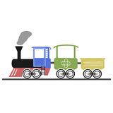 Locomotive stock illustration
