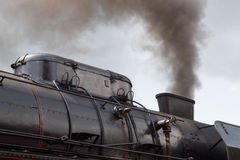 Locomotive chimney Royalty Free Stock Image