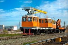 Locomotive crane Royalty Free Stock Images