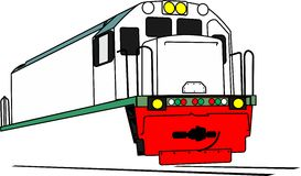 Locomotive de GE Image stock