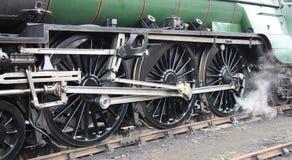 Locomotive de train de vapeur. images stock