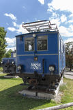 Locomotive della ferrovia bavarese di Zugspitze a Monaco di Baviera, 2015 Fotografia Stock