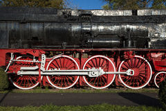Locomotive detail Royalty Free Stock Image
