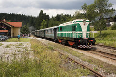 Locomotive diesel Photo libre de droits