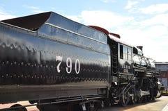 Locomotive diesel au site historique national de Steamtown dans Scranton, Pennsylvanie Image libre de droits