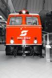 Locomotive diesel autrichienne historique Image libre de droits