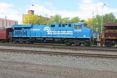 Locomotive du sud 8098 Conrail d'héritage de la Norfolk photographie stock