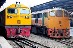 Locomotive electeic diesel Photos stock