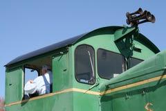 Locomotive Engineer royalty free stock image