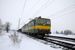 Locomotive freight train Royalty Free Stock Photo