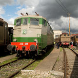 Locomotive FS E.424 Royalty Free Stock Photos