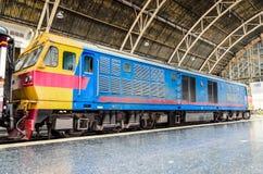 Locomotive at Hua lamphong station. Royalty Free Stock Photos