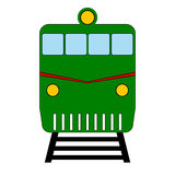 Locomotive icon Royalty Free Stock Images
