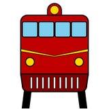 Locomotive icon Stock Photography