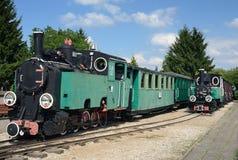 Locomotive museum in Poland Stock Photography