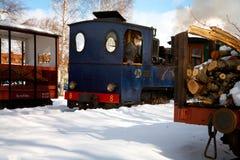 Locomotive number 8 Emsfors, OSlJ Stock Images