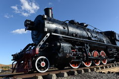 Locomotive of old age Royalty Free Stock Images