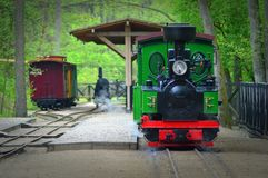 Locomotive. Royalty Free Stock Image