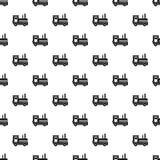 Locomotive pattern vector. Locomotive pattern seamless in simple style vector illustration Stock Photos