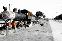 locomotive in Porto Velho, Rondônia, Brazil royalty free stock photography