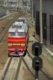 Locomotive Russian Railways model chs-4 Stock Photos