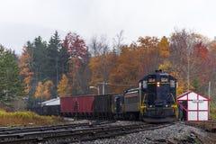 Locomotive reconstituée de chemin de fer de Baltimore et de l'Ohio - la Virginie Occidentale images libres de droits