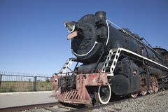 Locomotive running Stock Photography