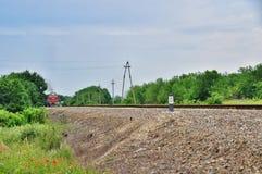 Locomotive russe Photographie stock