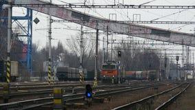Locomotive sans chariots clips vidéos