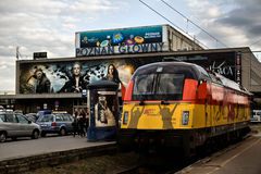 Locomotive Siemens EuroSprinter Stock Photos