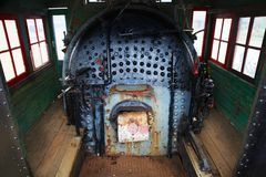 Locomotive Steam Engine Boiler Royalty Free Stock Photo