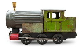 Locomotive toy Royalty Free Stock Photography