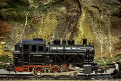 Locomotive toy Royalty Free Stock Images