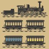 Locomotive train royalty free illustration