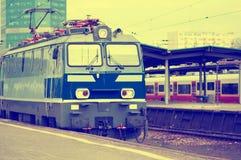 Locomotive, the train Royalty Free Stock Photo