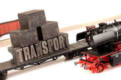 Locomotive and transport concept Royalty Free Stock Photography
