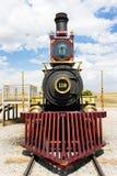 Locomotive. In Utah America Golden Spike Royalty Free Stock Photo