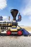 Locomotive. In Utah America Golden Spike Royalty Free Stock Photography
