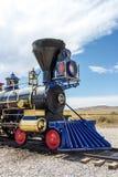 Locomotive. In Utah America Golden Spike Stock Photos