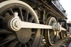 Locomotive à vapeur Image libre de droits