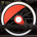 Locomotive wheel Stock Photo