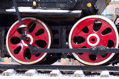 Locomotive Wheel Royalty Free Stock Photo