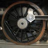Locomotive wheel Stock Photo