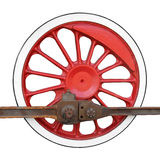 Locomotive wheel Stock Images