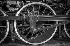 Locomotive Wheel Royalty Free Stock Images