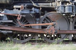 Locomotive Wheels Stock Photos