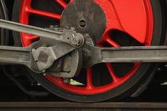 Locomotive wheels Stock Photo