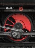 Locomotive wheels Royalty Free Stock Photos
