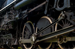 Locomotive wheels Royalty Free Stock Photo